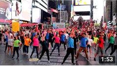 2018 IYF Manhattan Flashmob #2: Times Square NYC