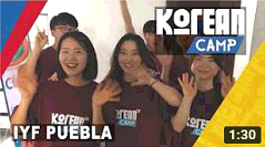 IYF Korean Camp Puebla 2018